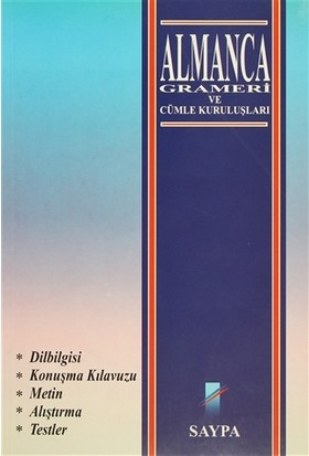 Almanca Grameri ve Cümle Kuruluşları(1. hamur)