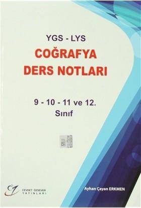 YGS - LYS Coğrafya Ders Notları