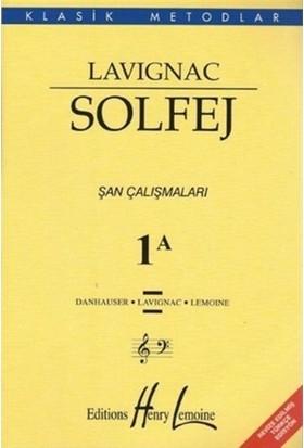 Lavignac Solfej 1A (Büyük Boy) - Danhauser