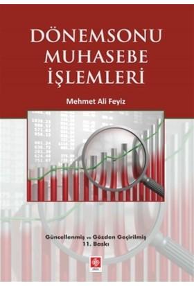Dönemsonu Muhasebe İşlemleri - Mehmet Ali Feyiz