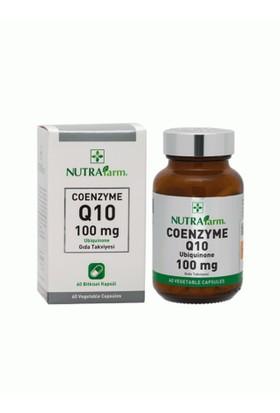 Dermoskin Nutrafarm Coenzyme Q10 Gıda Takviyesi 10