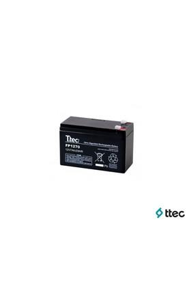 T.Tec Plus 12V 7Ah Bakımsız Kuru Akü
