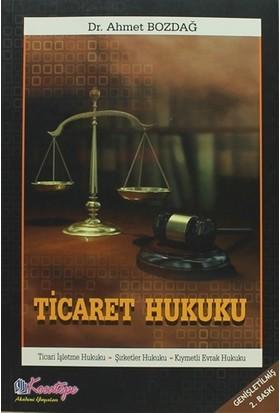 Ticaret Hukuku - Ahmet Bozdağ