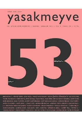 Yasakmeyve Sayı: 53 İki Aylık Şiir Dergisi