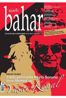 Berfin Bahar Aylık Kültür, Sanat ve Edebiyat Dergisi Sayı : 171
