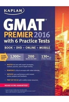 GMAT Premier 2016 With 6 Practice Tests