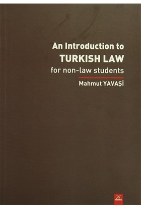 An İntroduction to Turkish Law