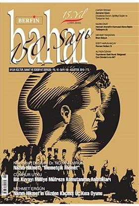 Berfin Bahar Aylık Kültür, Sanat ve Edebiyat Dergisi Sayı : 150