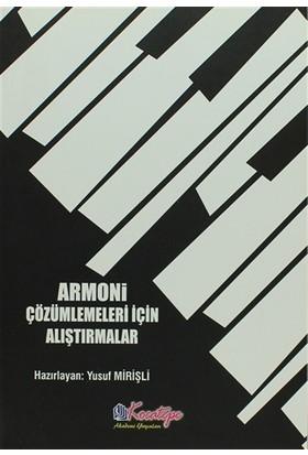 Armoni Çözümlemeleri İçin Alıştırmalar
