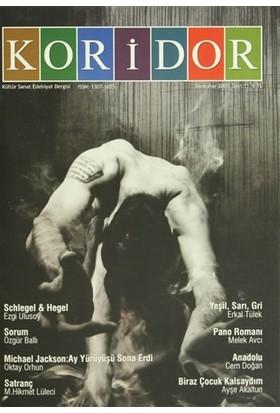 Koridor Kültür Sanat Edebiyat Dergisi Sayı: 11