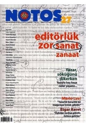 Notos Öykü İki Aylık Edebiyat Dergisi Sayı : 17