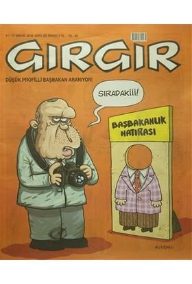Gırgır Dergisi 11 - 17 Mayıs 2016 Sayı: 20