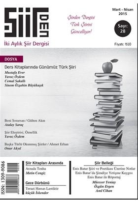 Şiirden İki Aylık Şiir Dergisi Sayı: 28