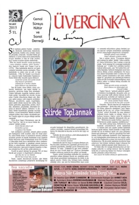 Üvercinka Dergisi Sayı: 5 - Mart 2015