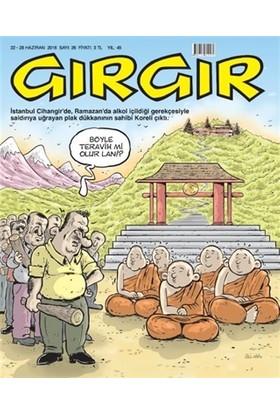 Gırgır Dergisi 22 - 28 Haziran 2016 Sayı: 26