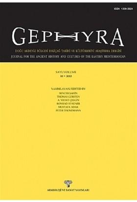 Gephyra Sayı 10 / Volume 10 - 2013