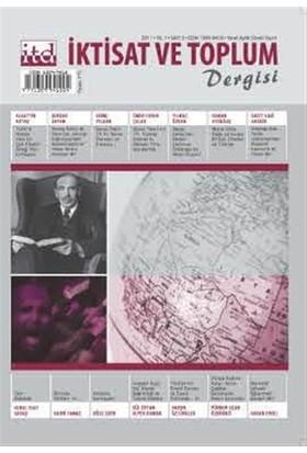 İktisat ve Toplum Dergisi Sayı: 5