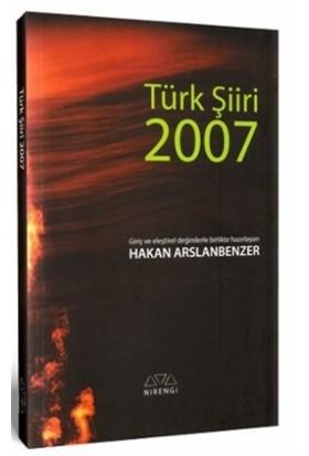 Türk Şiiri 2007 - Hakan Arslanbenzer