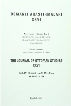Osmanlı Araştırmaları - The Journal of Ottoman Studies Sayı: 26