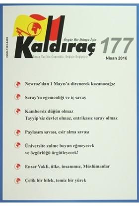 Kaldıraç Dergisi Sayı : 177 Nisan 2016