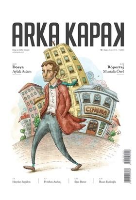 Arka Kapak Dergisi Sayı : 4 Ocak 2016 (Defter Hediyeli)