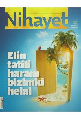 Nihayet Aylık Dergi Sayı: 19 Temmuz 2016