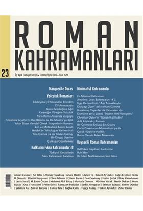 Roman Kahramanları Sayı : 23