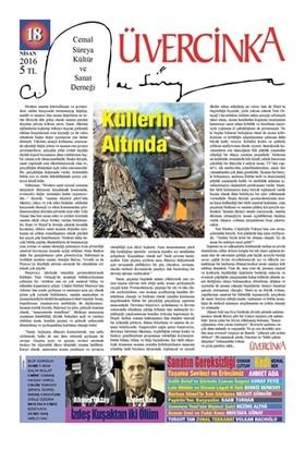 Üvercinka Dergisi Sayı : 18 Nisan 2016