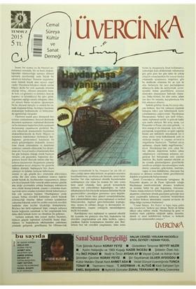 Üvercinka Dergisi Sayı: 9 - Temmuz 2015