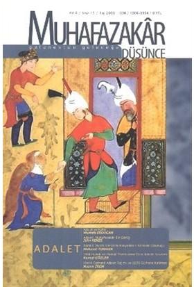 Muhafazakar Düşünce Dergisi Sayı: 15 Kış 2008