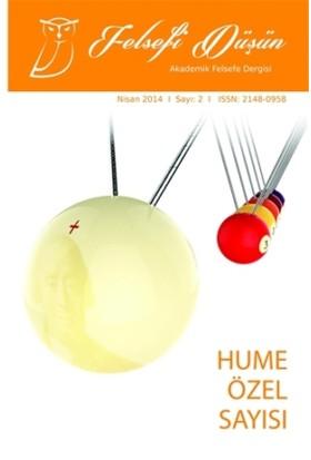Felsefi Düşün Akademik Felsefe Dergisi Sayı: 2 Nisan 2014