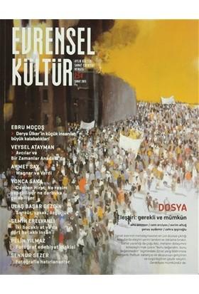Evrensel Kültür Dergisi Sayı : 254 Şubat 2013
