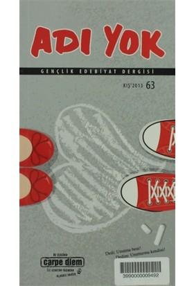 Adı Yok Gençlik Edebiyat Dergisi Sayı: 63