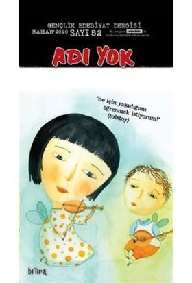 Adı Yok Gençlik Edebiyat Dergisi Sayı: 52