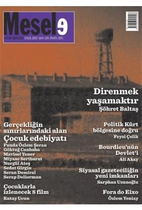 Mesele Kitap Dergisi Sayı : 105 Eylül 2015