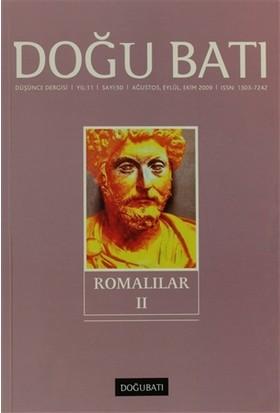 Doğu Batı Düşünce Dergisi Sayı: 50 Romalılar 2