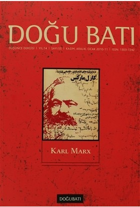 Doğu Batı Düşünce Dergisi Sayı: 55 Karl Marx