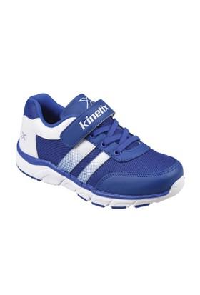 Kinetix A1291154 Saks Beyaz Siyah Erkek Çocuk Koşu Ayakkabısı