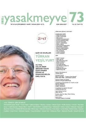 Yasakmeyve Sayı: 73 İki Aylık Şiir Dergisi