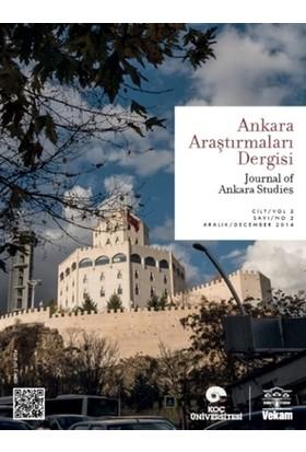 Ankara Araştırmaları Dergisi Cilt : 2 Sayı : 2 / Journal of Ankara Studies