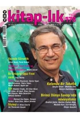 Kitap-lık Sayı: 178 Aylık Edebiyat Dergisi