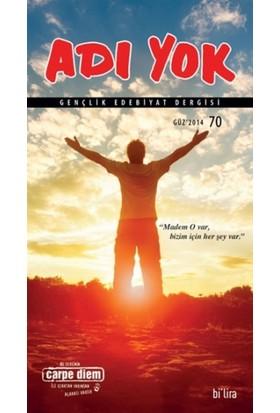 Adı Yok Gençlik Edebiyat Dergisi Sayı: 70