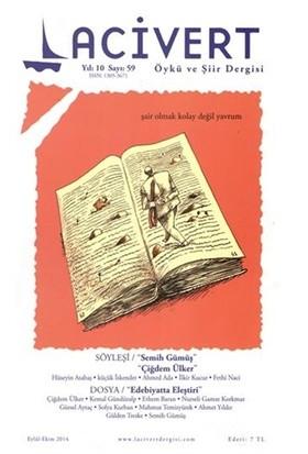 Lacivert Öykü ve Şiir Dergisi Sayı : 59 Eylül-Ekim 2014