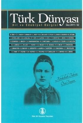 Türk Dünyası Dil ve Edebiyat Dergisi Sayı: 32