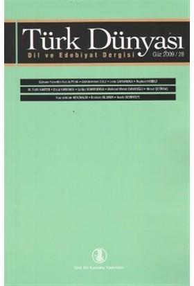 Türk Dünyası Dil ve Edebiyat Dergisi Sayı: 28