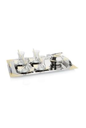 Pierre Cardin Estella Gold 40 Parça 12 Kişilik Çelik Çay Takımı