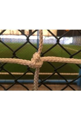 As100 Nizami Futbol Kale Ağı Naylon Sarı