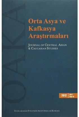 Orta Asya ve Kafkasya Araştırmaları Cilt: 7 Sayı: 13 (2012)