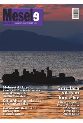 Mesele Kitap Dergisi Sayı : 107 Kasım 2015