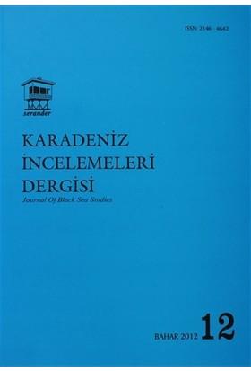 Karadeniz İncelemeleri Dergisi Sayı: 12